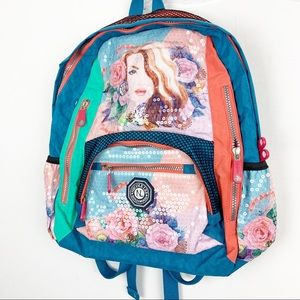 Nicole Lee | Gemma Sequin backpack